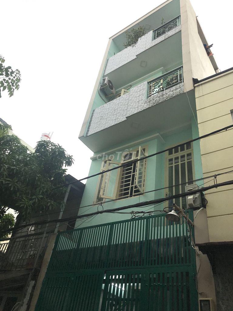 Nhà 3,8 tỷ, 1 trệt 3lầu, 110m2 quận Bình Tân