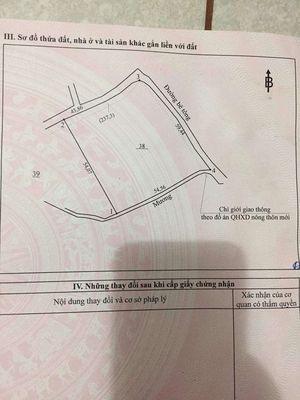 Chính chủ cần bán 2.7 xào đất 2 mặt tiền bê tông