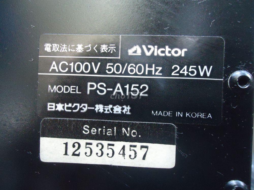 Power VICTOR PS-A152, 245w/k, chạy 16 sừng trâu