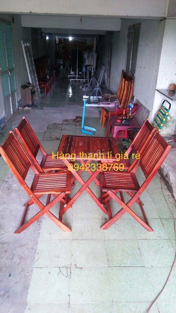Bộ bàn ghế cây