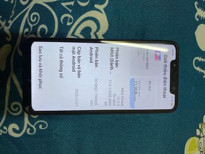 Xiaomi pocophone 6/64 snap 845