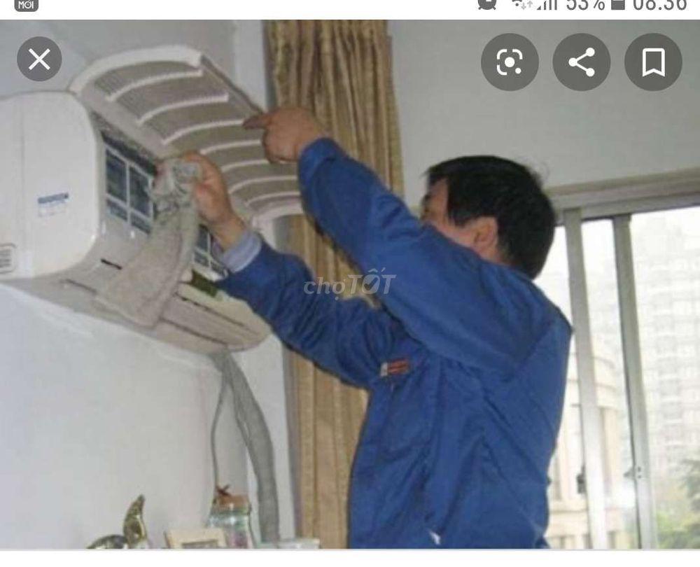 Vệ sinh máy lạnh, máy giặt uy tín, giá rẻ