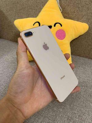 Iphone 8 plus  gold zin nguyên áp đẹp 99%