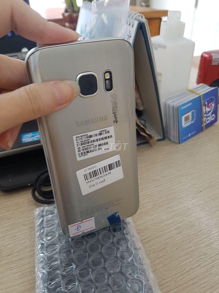 0983164307 - Samsung Galaxy S7 Bạc setup one tốp team