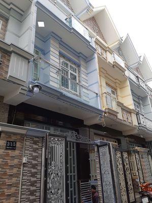 Bán nhà 3.5 lầu, đường Hoàng Ngân p16 Q8, sh2019