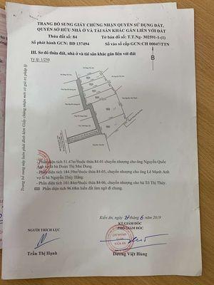Bán 03 mảnh đất liền kề ngõ Trần Thành Ngọ, Kiến A