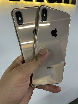 IPhone XS Max-64G Gold đẹp 99% zin áp suất