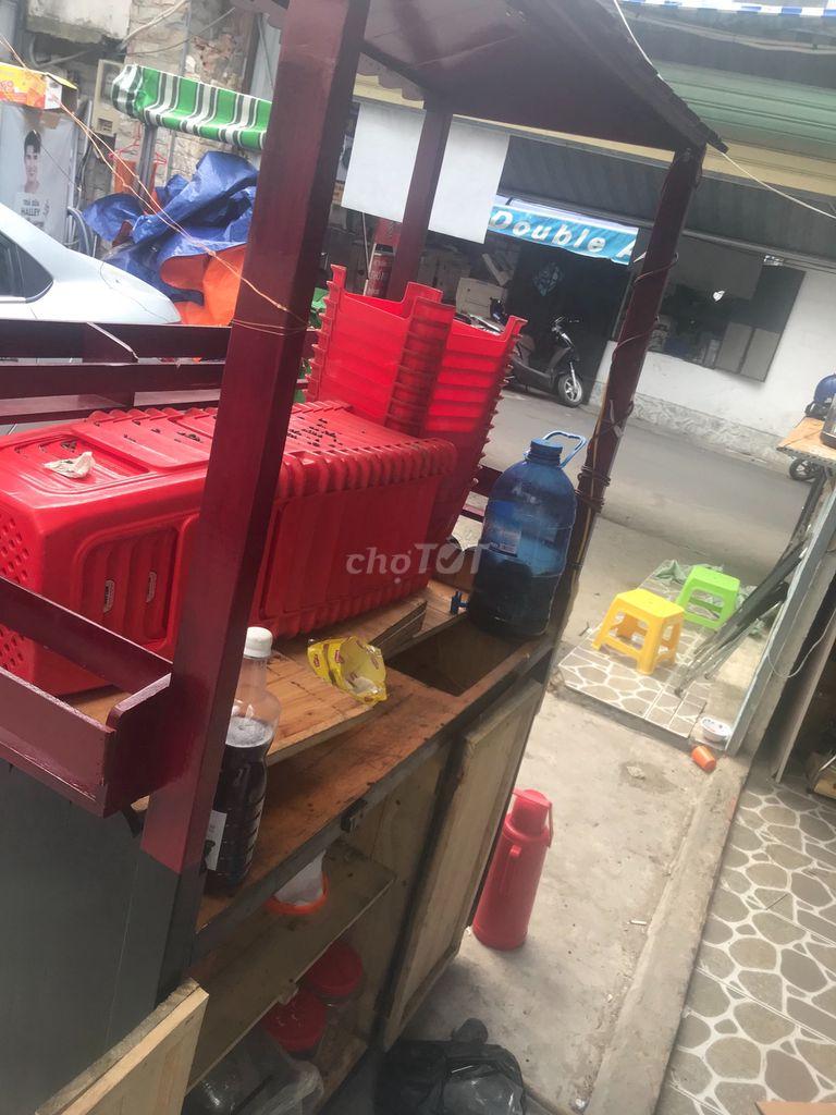 0379566770 - Thanh lý gấp xe trà sữa gỗ