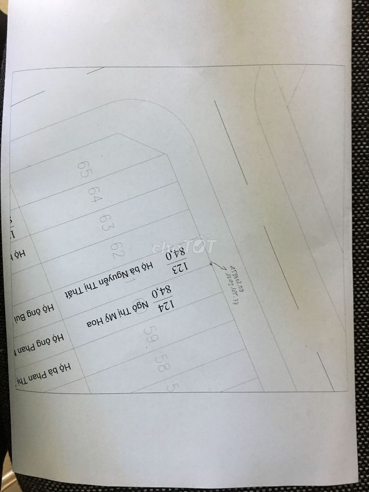 Bán đất MT đường nhựa 9 m KDC Thanh Hài gần biển