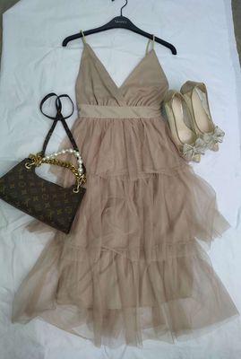 Váy tầng 2 dây