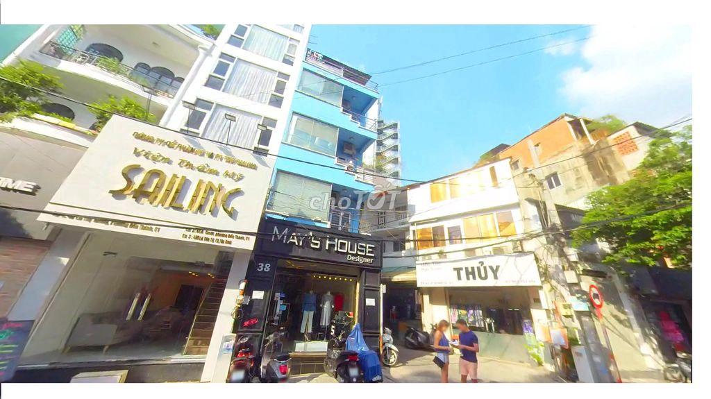 Nhà Mặt tiền Lê Thị Riêng 5x20 4 lầu 8PN Q.1