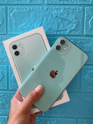 iPhone 11 64Gb quốc tế màu Xanh