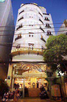 Building Hùng Vương, P9, Q5, 5.5x16m, 8 Lầu. 36 Tỷ