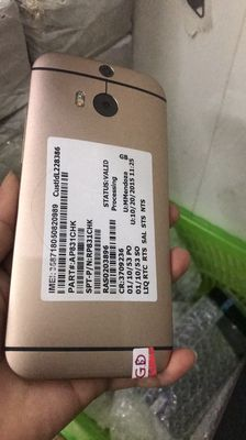 HTC One M8 32 GB vàng __Chiến pubg Tốt chính hãng