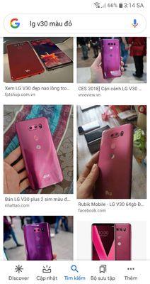 LG V-Series ThinQ Đỏ màn 2K. Có quà tặng.