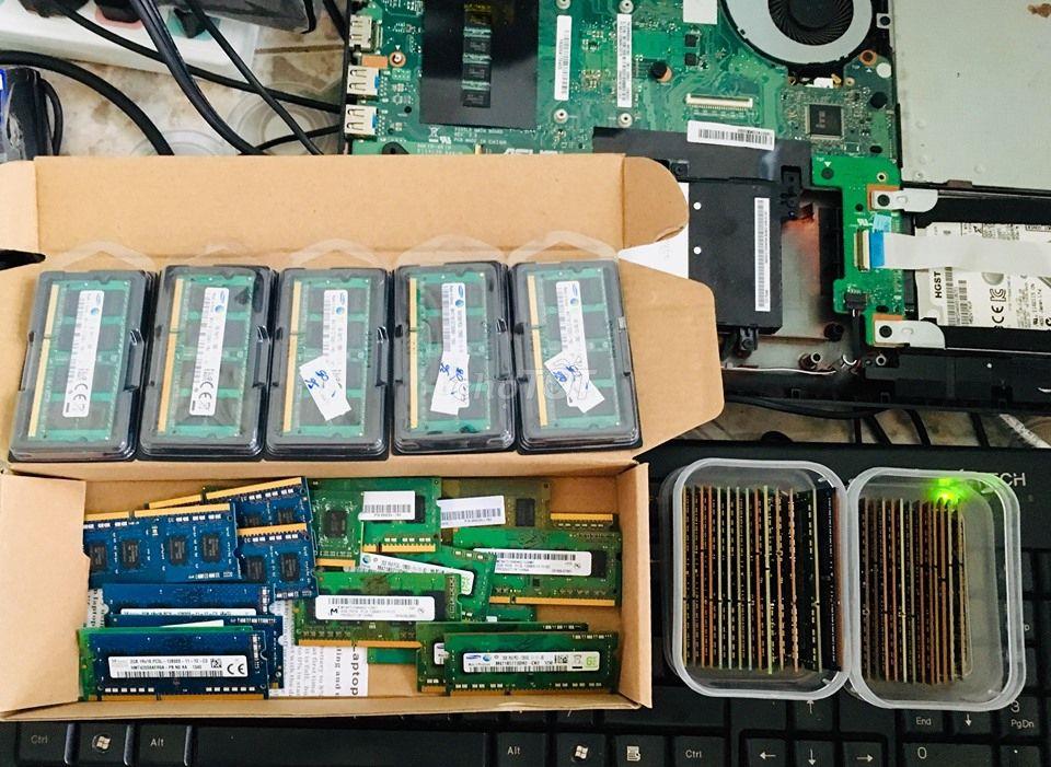 Chuyên Ram Laptop-Máy Bàn-PC2-PC3L-PC4