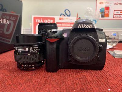 bán bộ nikon d70 giá rẻ kèm lens 35-70D
