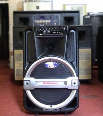 Loa Ronamax karaoke hay, tặng 2 mic