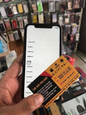 Điện thoại Iphone Xr màu Đen bị dính Icloud
