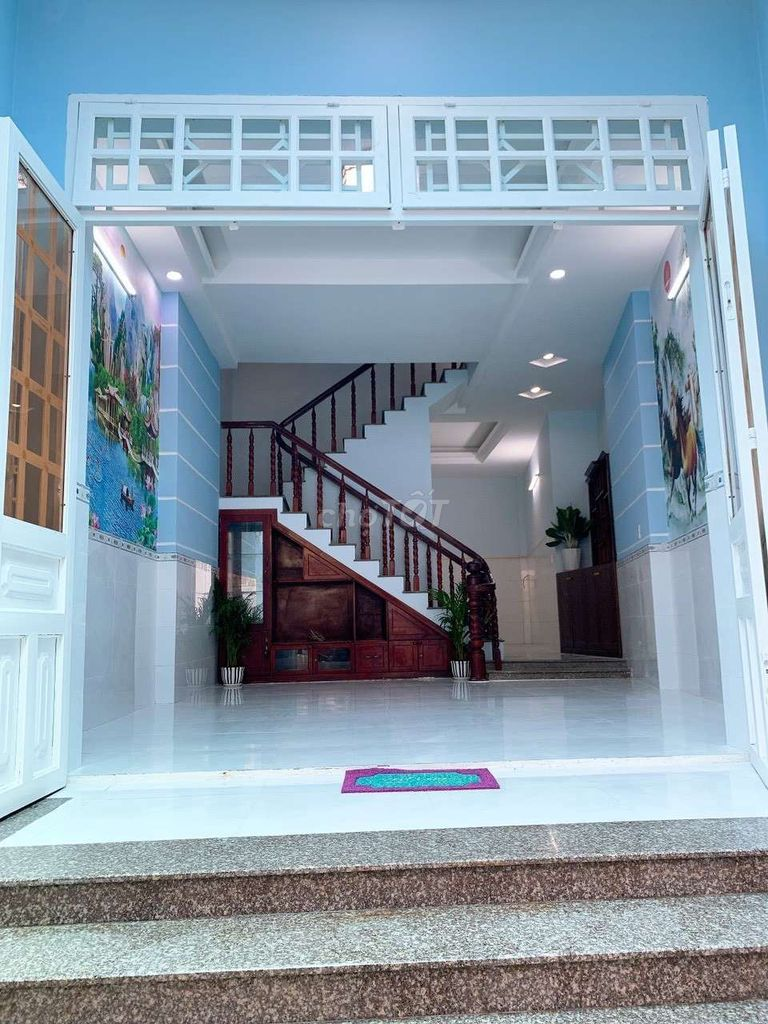 Nhà 4x20 nở hậu 5m Đúc 2 lầu,Đường Nguyễn Ảnh thủ