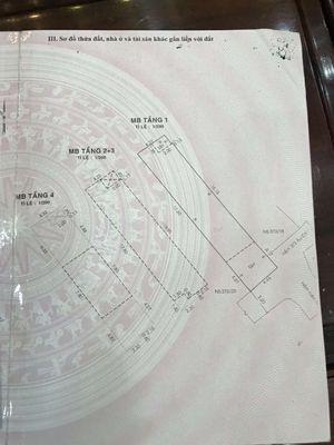 Nhà HXH Âu Cơ 4,5x22m 3 lầu 6PN 10ty
