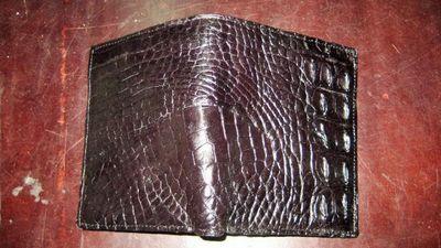 Ví da nam cá sấu uyên leather