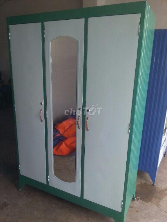 Tủ sắt 2 cửa, 3 cửa, size đại ngang 1m2. MS5. NEW