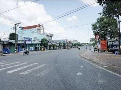 Đất Huyện Chơn Thành 206m²