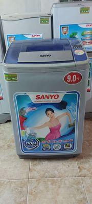 Bán máy giặt Sanyo 9kg thùng nghiêng.