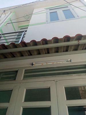 Nhà giá rẻ 1 trệt 1 lầu 48m2 đg Hương lộ 80b Q12