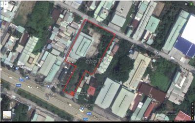 Cần bán xưởng 3 mặt tiền đường Trần Văn Giàu.