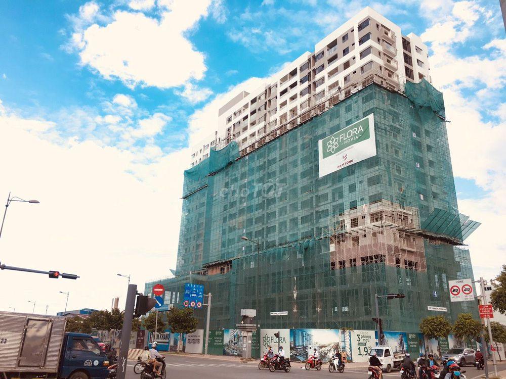 Bán căn hộ Flora Novia 2PN Block B tầng 8 DT:57m2