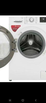 Máy giặt LG inverter 9 kg FC1409S4W. NEW100%