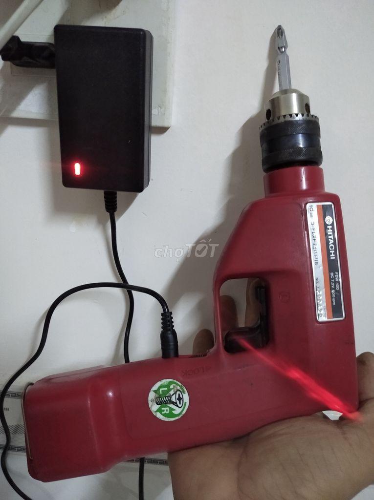 0907119660 - Máy khoan Hitachi công xuất nhỏ 7.2v