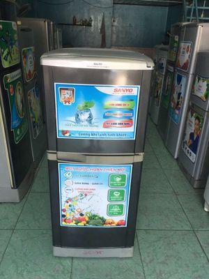 Tủ lạnh sanyo 130l không đông tuyết