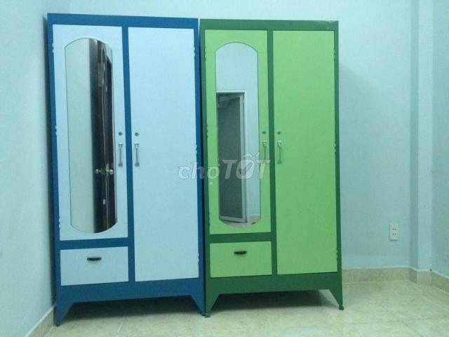 tủ quần áo 123 người xài, hàng cty , BH 12T
