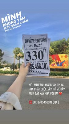 Bán đất Tp Long Khánh giá RẺ