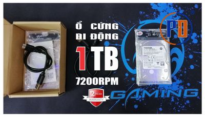 Ổ CỨNG DI ĐỘNG 500GB, 1TB - XẢ LÔ GIÁ TỐT