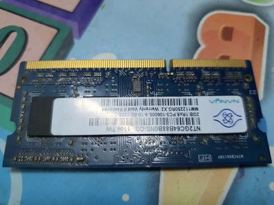 Ram laptop DDR3 2GB Nanya