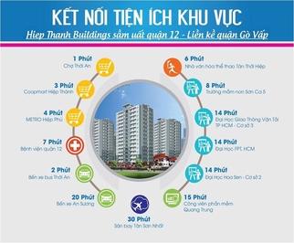 Chung cư Hiệp Thành Building 56m² 1PN