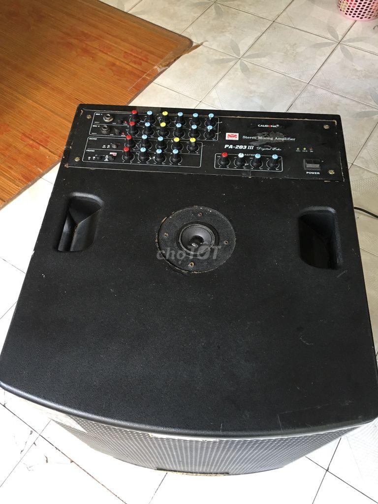 0346193182 - Loa kéo 4tấc Bluetooth độ Amlpy dùng điện 220V