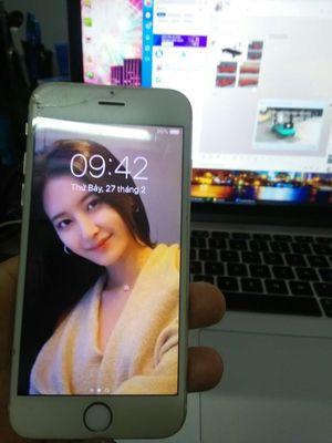iPhone 6 Trắng QT 64 GB vân tay nhạy chưa qua sc