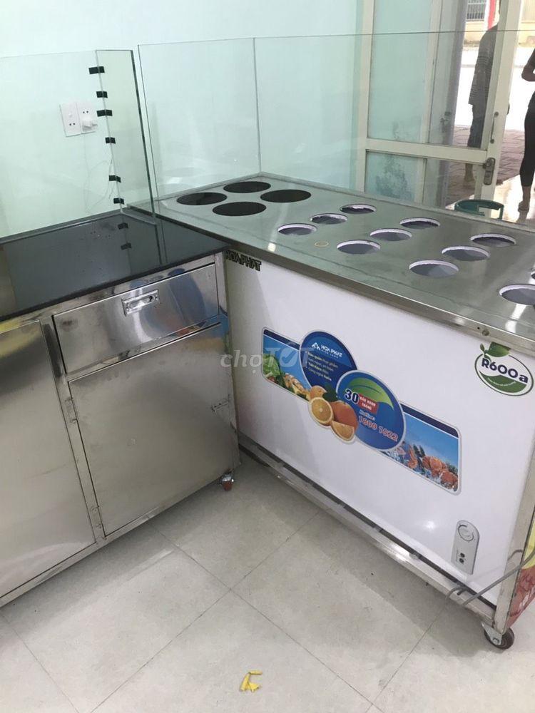 tủ +đồ dùng quán cháo dinh dưỡng từ  a đến z