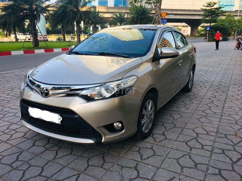 Toyota Vios 2016 Tự động ! Màu vàng cát ! Xe đẹp !