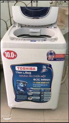 Máy 10kg chạy  êm giặt sạch vắt sấy cực khô