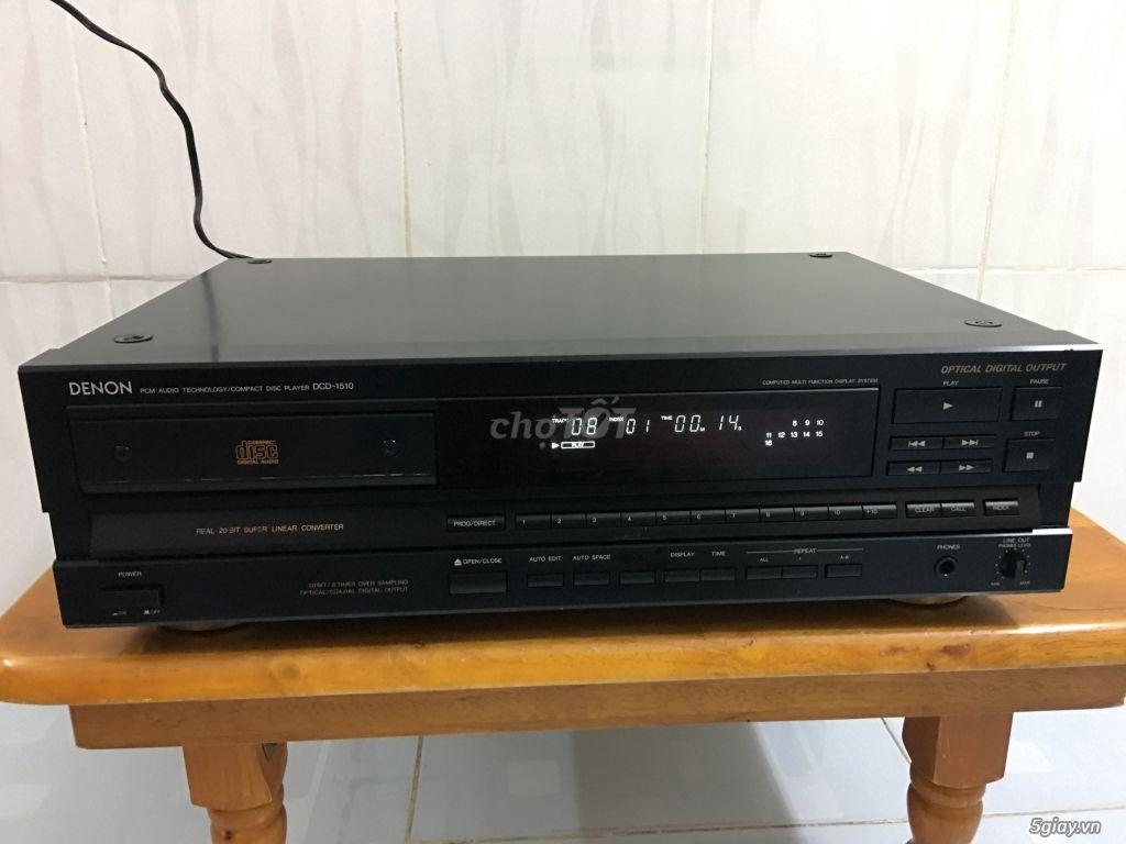 Bán đầu CD denon 1510. Giải mã 20 bit