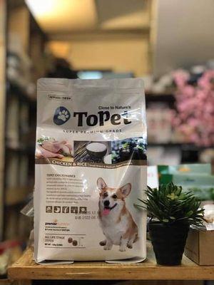 Thức ăn cho chó Topet Hàn Quốc 1.2KG