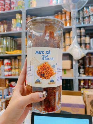 Mực xé Tẩm vị, bánh mix Đài Loan