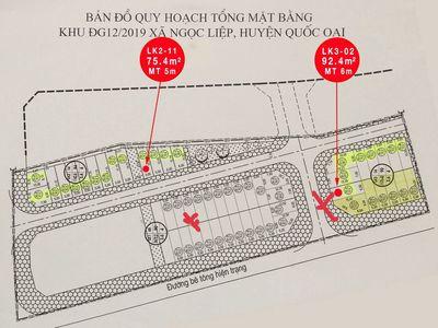 Do C.Ô V.ÍT Bán Đất 75.4m² ĐỒNG BỤT Quốc Oai