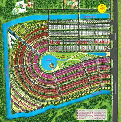 Đất nền Làng Sen Việt Nam G1-33;H1-35;H1-04;H1-05